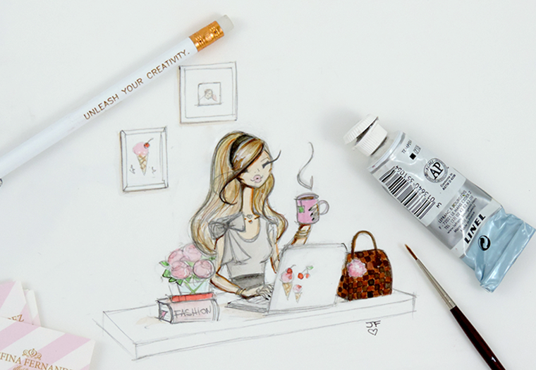 Josefina Fernandez Illustrations- Hello and welcome to my blog