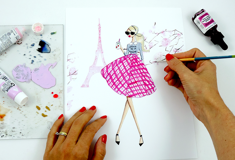 Josefina Fernandez Illustrations- An insight into my creative process 1