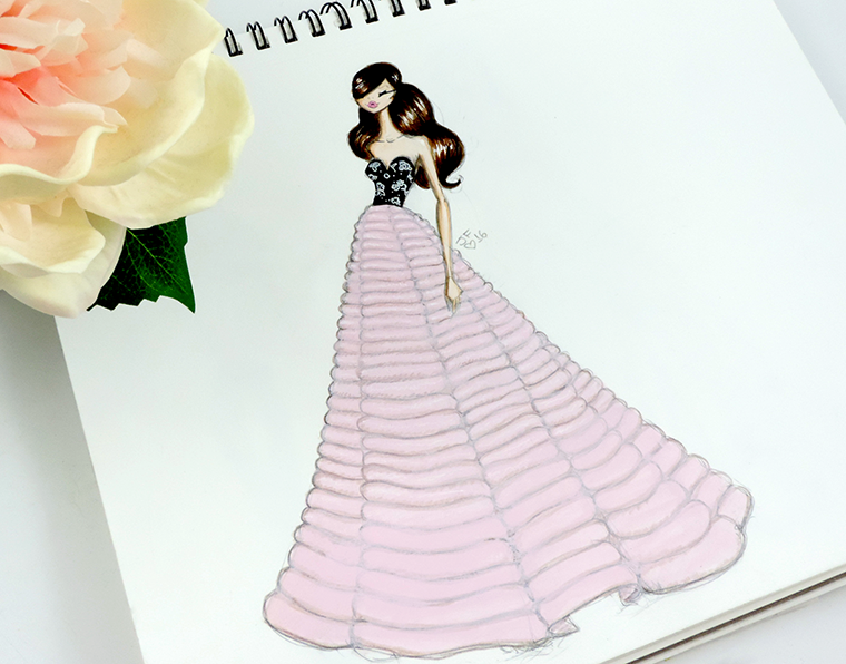 Josefina Fernandez Illustrations- Paris Couture week in my sketchbook 4