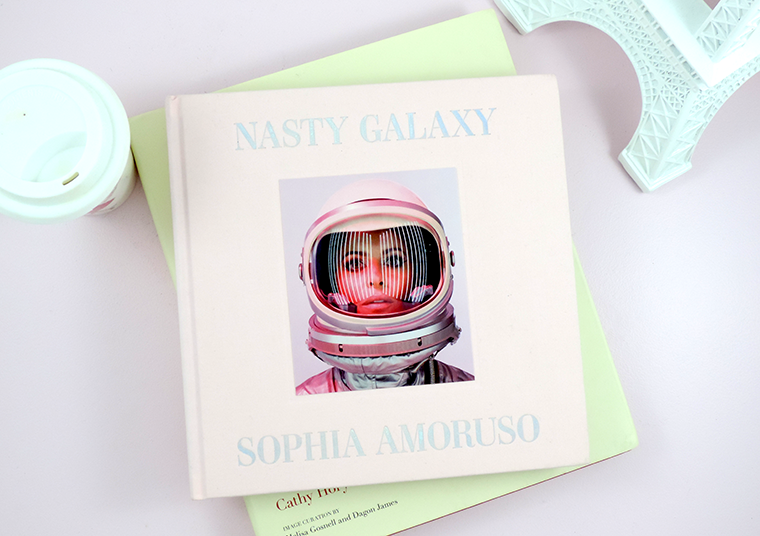 Currently reading Nasty Galaxy by Sophia Amoruso