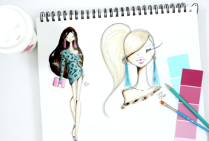 Josefina Fernandez - fashion illustrator in Miami