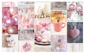 Josefina Fernandez Illustrations- dreaming of a pink christmas