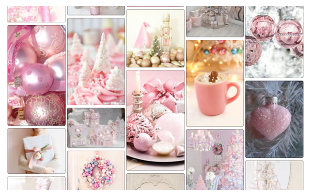 Dreaming of a pink Christmas ♥