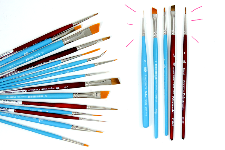 princeton brushes