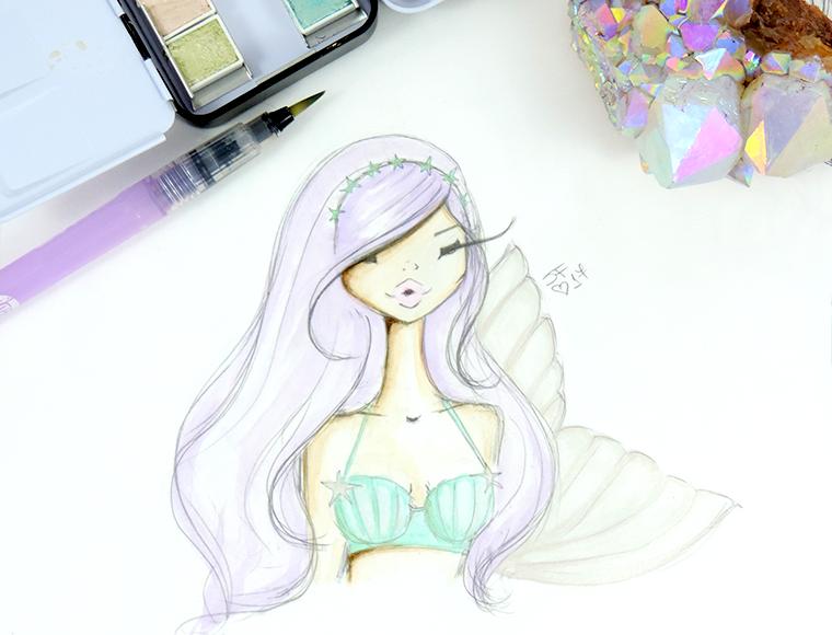 prima celestial swatches mermaid Josefina Fernandez