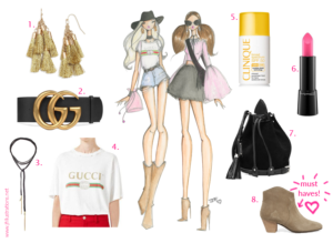 festival faves fashion illustration by josefina fernandez