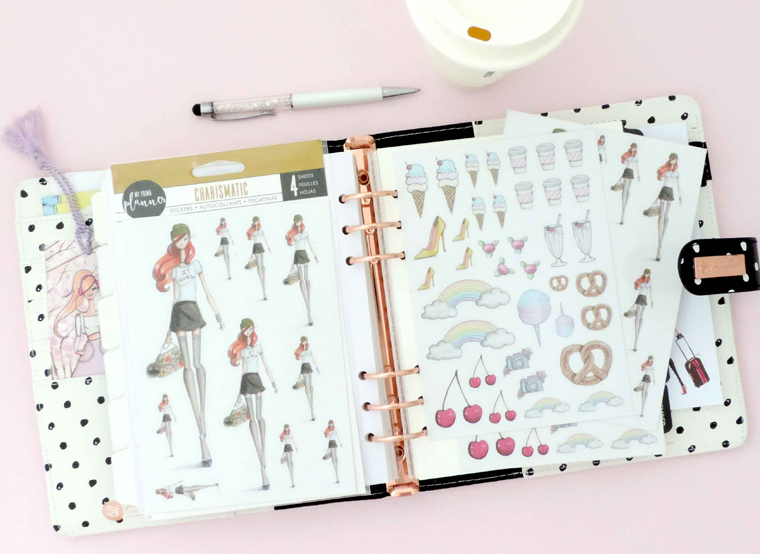 my prima planner collab with fashion illustrator josefina fernandez