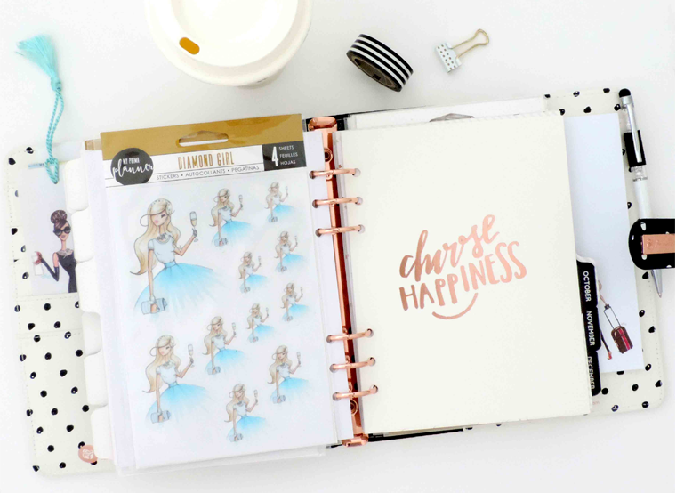 fashion illustration planner stickers by my prima planner