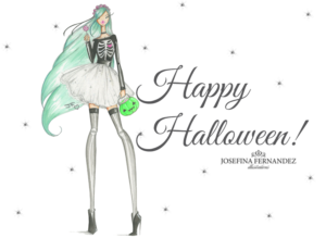 halloween josefina fernandez illustrations