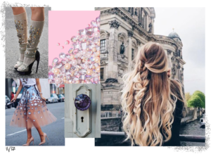 pinterest moodboard by fashion illustrator josefina fernandez