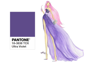 Ultraviolet Pantone color of the year 2018 2 Josefina Fernandez