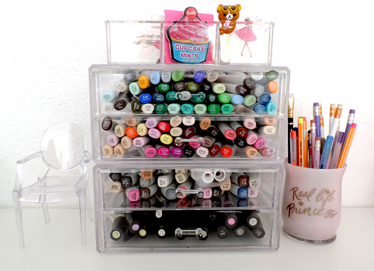 Clearly Chic clear organizer review