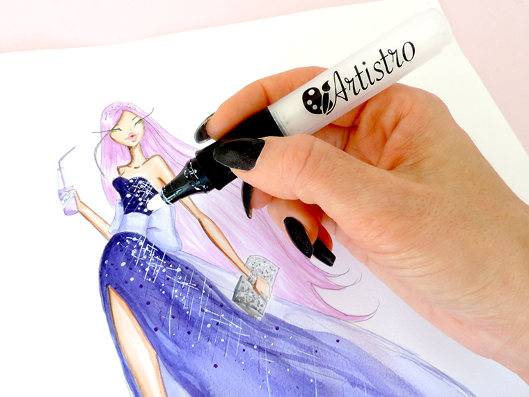 artistro acrylic markers review