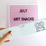 july art snacks box reveal and artsnackschallenge