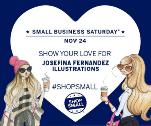 shop small saturday josefina fernandez illustrations