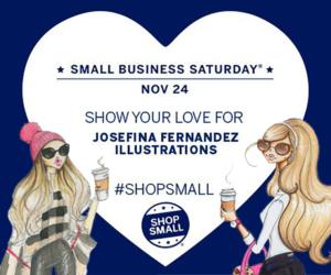 shop small saturday josefina fernandez illustrations