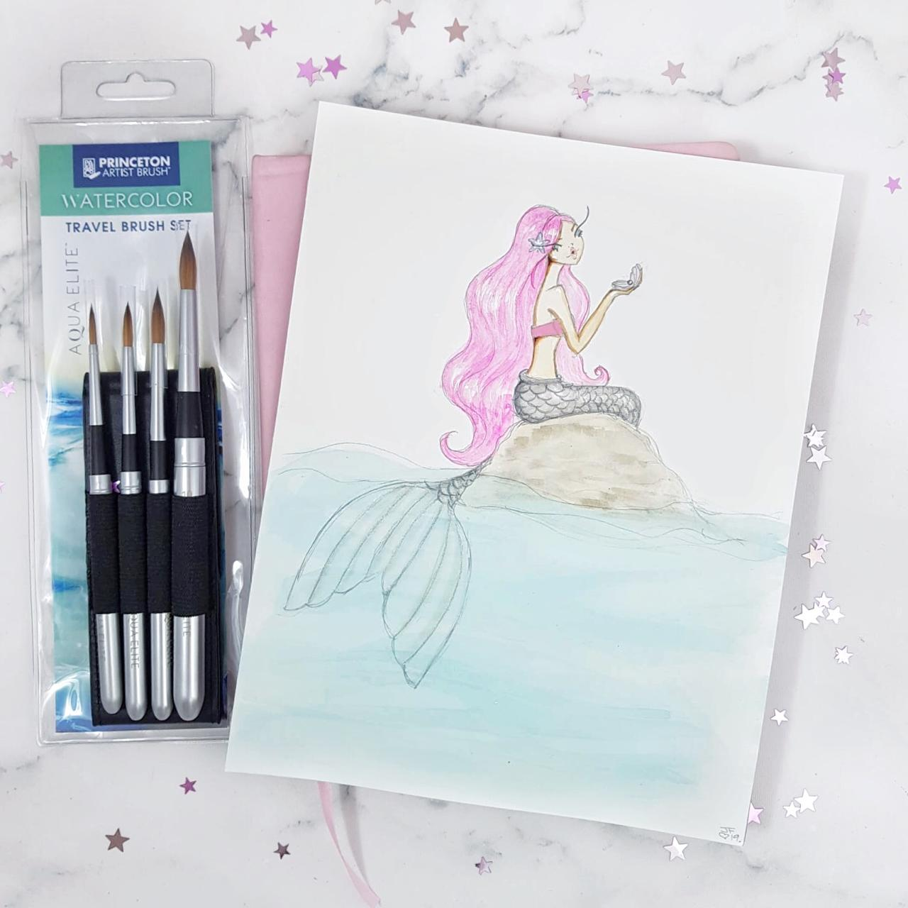 Princeton Artist Brush x Josefina Fernandez Illustrations Mermay Giveaway!
