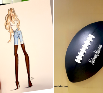 neiman marcus bal harbor miami fashion illustration superbowl