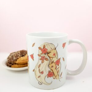 Flower Chic Mug JF Illustrations